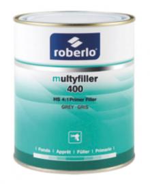 Roberlo užpildas MULTYFILLER 400 pilkas juodas
