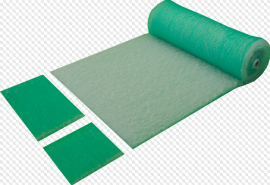 žalias grindinis filtras