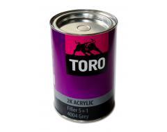 TORO 4004 2K užpildas  5+1 pilkas 0,75L