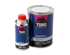 TORO užpildas 4005 Plus pilkas 0,8L+ kietiklis 3005 0,2L